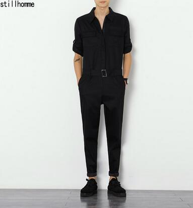 Mens cotton material Tight pants set of slender slacks male singers clothing wear work clothes work Big yards mens clothing