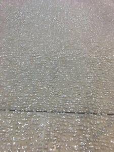 Image 2 - Специальная приклеенная блестящая Тюлевая ткань для красивого платья, блестящая кружевная ткань с принтом