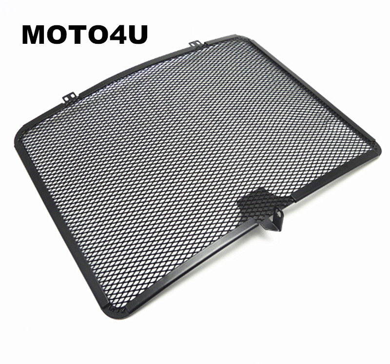 MOTO4U R1 Aluminum Radiator Grill Guard Cover Grille for YAMAHA R1 2007 2008 Oil Cooler Protector