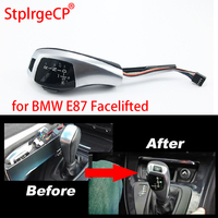 For BMW 1 Series 2004 2010 E81 E87 E82 E88 Facelifted LHD Automatic Updated Look LED Gear Shift Knob Car Parts