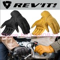 2016 New Netherlands REV'IT! Abbey Road motorcycle gloves revit leather motorbike riding gloves can touch Mobile phone screen
