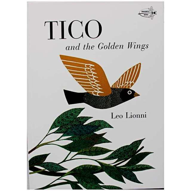 Tico and the Golden Wings By Leo Lionni Educational English Picture Book Learning Card Story Book For Baby Kids Children Gifts