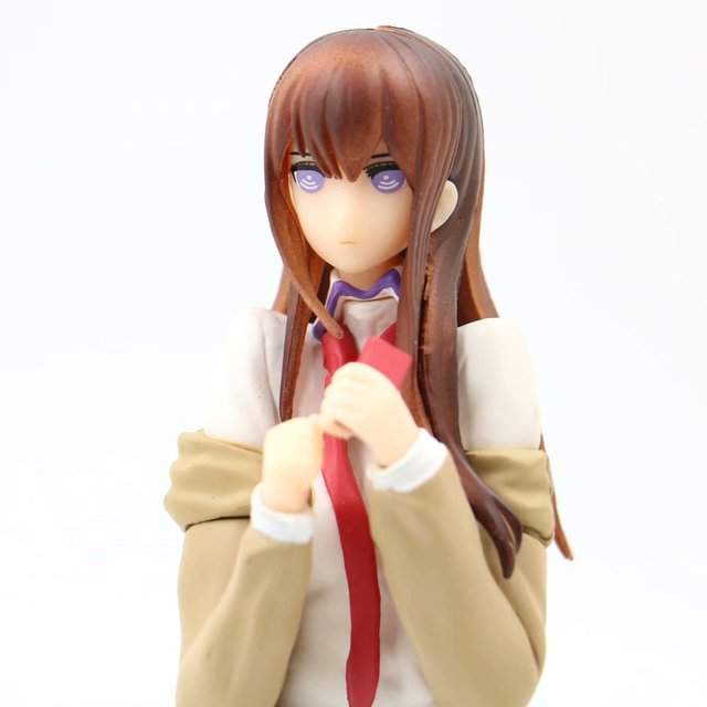 Steins Gate Anime Kurisu Christina Action Figure Labmem No.004 Version PVC Hot Collectible Model Toy 22cm Gift XYC