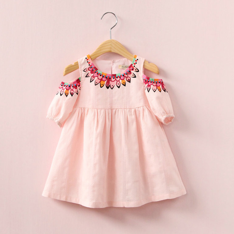 Buy baby girls dress 2017 summer style Baby clothing designers