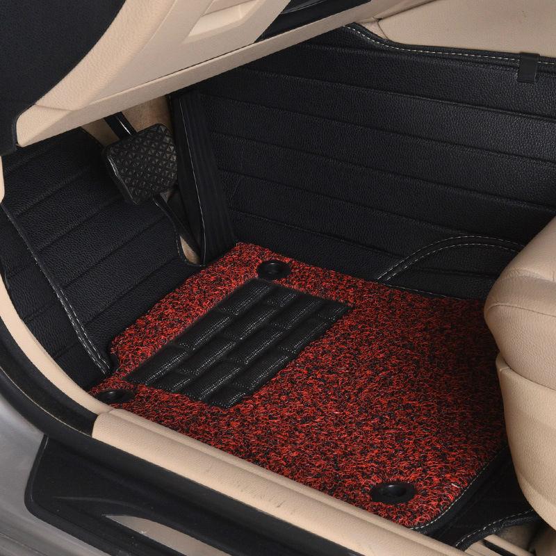 Myfmat new floor mats auto rugs set car pad double-layer for Cadillac CTS CT6 SRX DeVille Escalade SLS ATS-L/XTS MG3/5/6/7 MG-GT