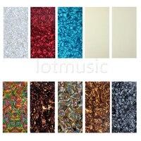 10pcs Different Colors 20cmx10cm Guitar Head Veneer 1 5mm Headplate
