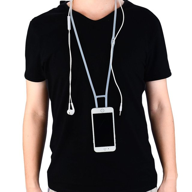 brand new 280d0 f79bc US $15.36 |Promotional Discounts Phone Case Cover Holder Necklace Wrist  Strap Sling Lanyard For Apple Watch iPhone SE/5/5s/6/6S/PLUS-in Armbands  from ...