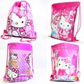 New Hello kitty backpack school bags for girls lovely cartoon children backpacks bag for kids Wholesale &88281