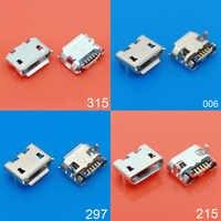 4 TYPE vente chaude micro USB 5pin jack corne de boeuf quatre jambe plaque prise femelle connecteur USB corne de boeuf courte et longue aiguille