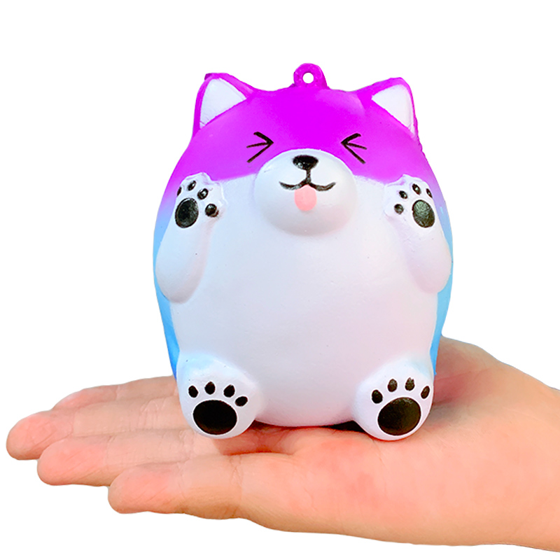 Kawaii Shy Bear Squeeze Toys Slow Rising Squishy Soft Creative Cartoon Stress Relief Phone Straps Fun For Kid Baby Xmas Gift Toy