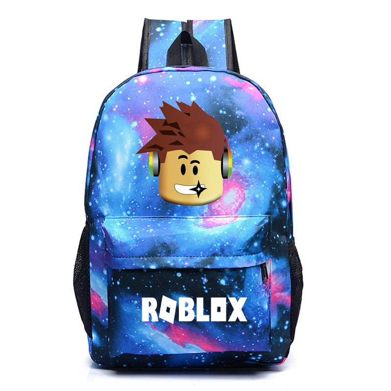 Roblox Game Boy School Bag  Backpack Student Book Bag Notebook Daily Backpack Mochila Boys Girls Gift
