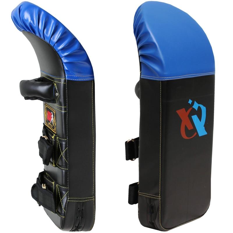 Pro Thicken Kicking Pad arc shaped camber curve PU taekwondo kickboxing boxing sandbag Punch Pad kick