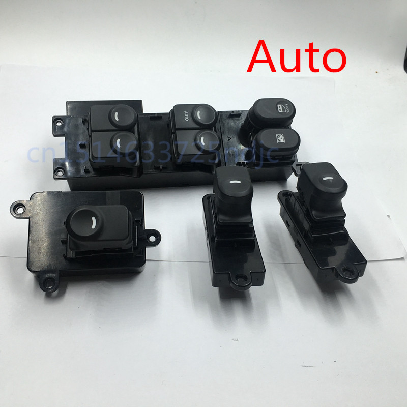 Set of 4 for Hyundai i30 Drivers Master + Passenger Side electric Power Window Lifter regulator Control Switch Auto Autodown glass electric window regulator electric lifter switch for peugeot 307 automobiles glass frame riser window master control