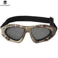 Emerson Outdoor Jacht Metal Mesh Bril Tactische Schokbestendigheid Ogen Beschermen Bril Airsoft Hoge Kwaliteit Sportbrillen