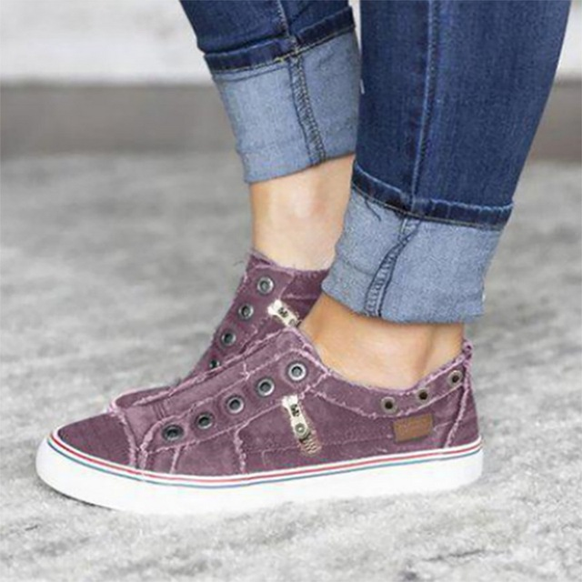 New Women Leisure Vulcanize Shoes Autumn Men Flat-Soled Sports Sports Shoes Lovers Solid Canvas Flat Sneakers Plus Size 35-43 2