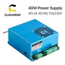 Cloudray 40W CO2 Laser Cung Cấp Điện MYJG-40T 110V 220V cho Khắc Cắt 35- 50W MYJG