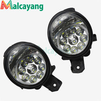 For Nissan Qashqai 2007 2012 Car Styling CCC E2 6000K LED Fog Lamps DRL Lights 1set