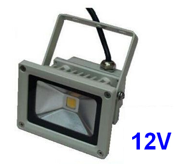 (50pcs/lot) 12V 10W LED Floodlight Outdoor Landscape LED Flood light Wash Flood Flash lamp Warm White Cold white