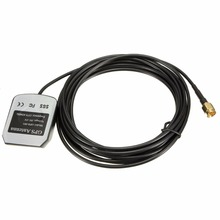 Three-5V Excessive Efficiency Automobile Auto GPS Energetic Distant Antenna Aerial Adapter Connector SMA Connector Lengthy Service Life 10000 Hours