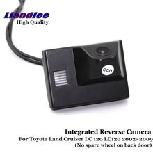 Liandlee Car Rear View Camera For Toyota Land Cruiser LC 120 LC120 2002~2009 Rearview Reverse Parking Backup Camera / Integrated mgoodoo new rear view backup camera parking assist camera 86790b1100 for toyota 86790 b11000