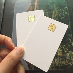 ISO 7816 белый AT24C64 чип смарт IC карта с 64K EEPROM памяти для системы контроля доступа 10 шт