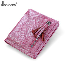 Unisex Thin Genuine Leather Wallet