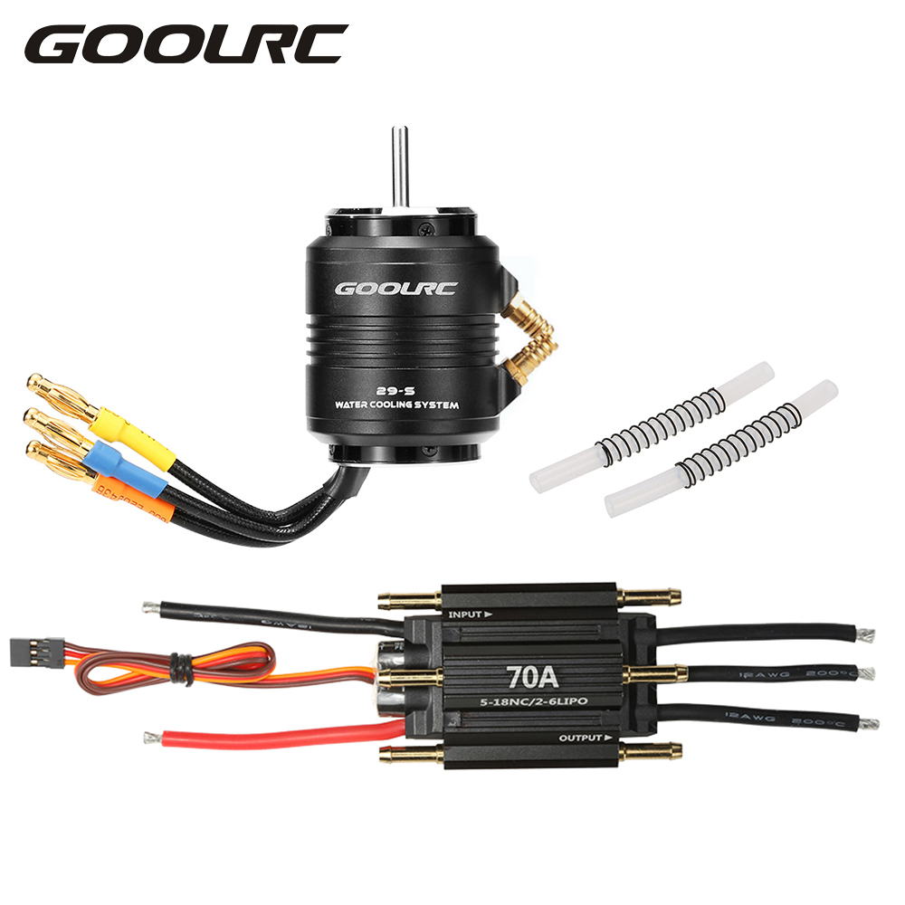 goolrc original 70a brushless esc and 2958 4200kv motor with 29 s water cooling jacket combo for. Black Bedroom Furniture Sets. Home Design Ideas