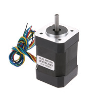 42BLS02 0.15N.m/21.1oz.in. Square Brushless DC Motor 42x61mm BLDC 24V 52.5W 4000rpm 3 Phase DC Motor with Hall Low Noise