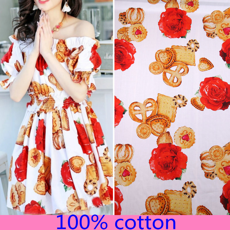 Multicolor Printed 100/% Cotton Fabric Sewing Designer Dress Apparel By The Metre