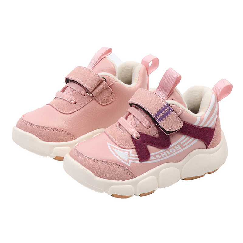 New Soft Baby Shoes Winter Kids Sneakers Plush Toddler Shoes Girl Teenage Sneakers  Children School Sports Shoes for Boys-in Sneakers from Mother   Kids on ... fa039bf2fab9