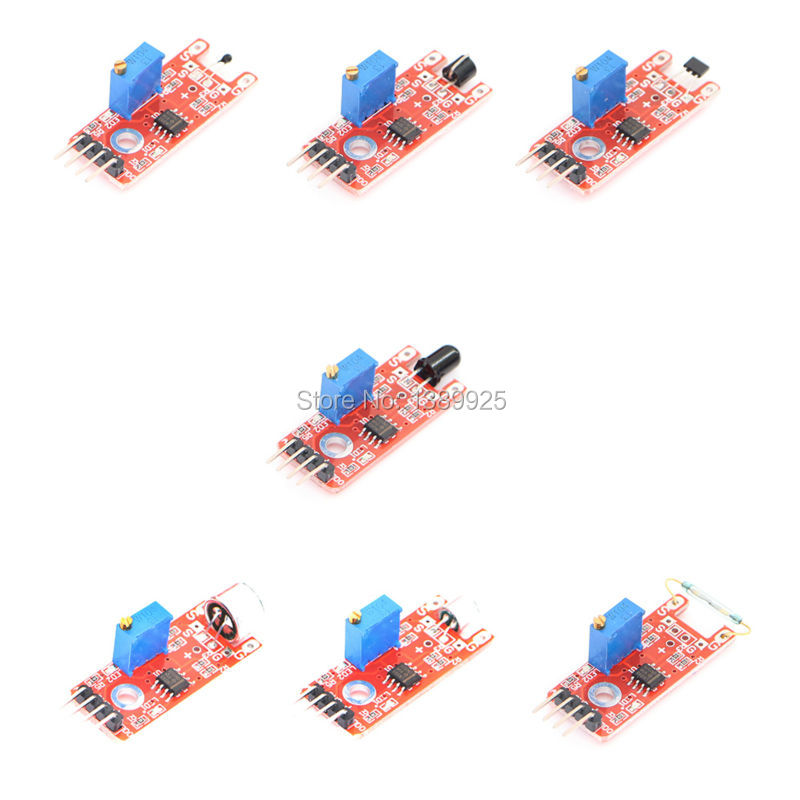 37 IN 1 SENSOR KITS FOR ARDUINO HIGH-QUALITY FREE SHIPPING (Works with Official for Arduino Boards) 7