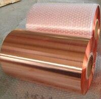 0 4 200 1meter Red Copper Foil Strip Copper Sheet Plate Skin 99 9 High Purity