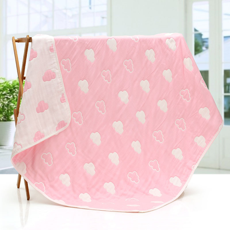 Cotton Gauze Blanket On The Bed Newborn Baby Blankets Children Kids Sofa Plaid Super Soft Bed Sheet Newborn Wraps