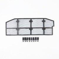 Wtfs Edelstahl ABS Insekt Grille Netz Grill Einsätze Insect Net Insekten Proof Net für Mitsubishi Outlander [QP1137]|Rennauto-Kühlergrill|   -