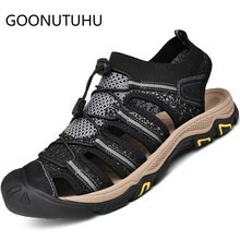 2019 new summer mens sandals casual breathable shoes man comfortable beach sandal male fashion outdoor sandasl for men hot sale