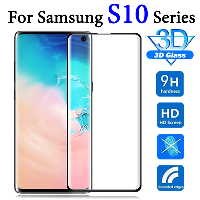 Protective glass on for <font><b>samsung</b></font> galaxy s10 plus screen protector e <font><b>10e</b></font> lite s 10 light s10e tempered film sheet cam 10s s10plus image