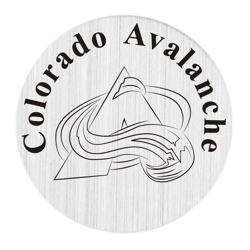 Колорадо Эвеланш 22 мм Нержавеющаясталь с плавающей медальон плиты НХЛ плавающий Талисманы Fit 30 мм жизни Стекло медальоны 20 шт./лот