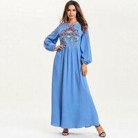 Vestido 2019 Abaya Caftan Dubai Arabe Islamic Kaftan Dress Sukienki Women Elbise Ramadan Eid Dresses Robe Femme Musulmane Longue