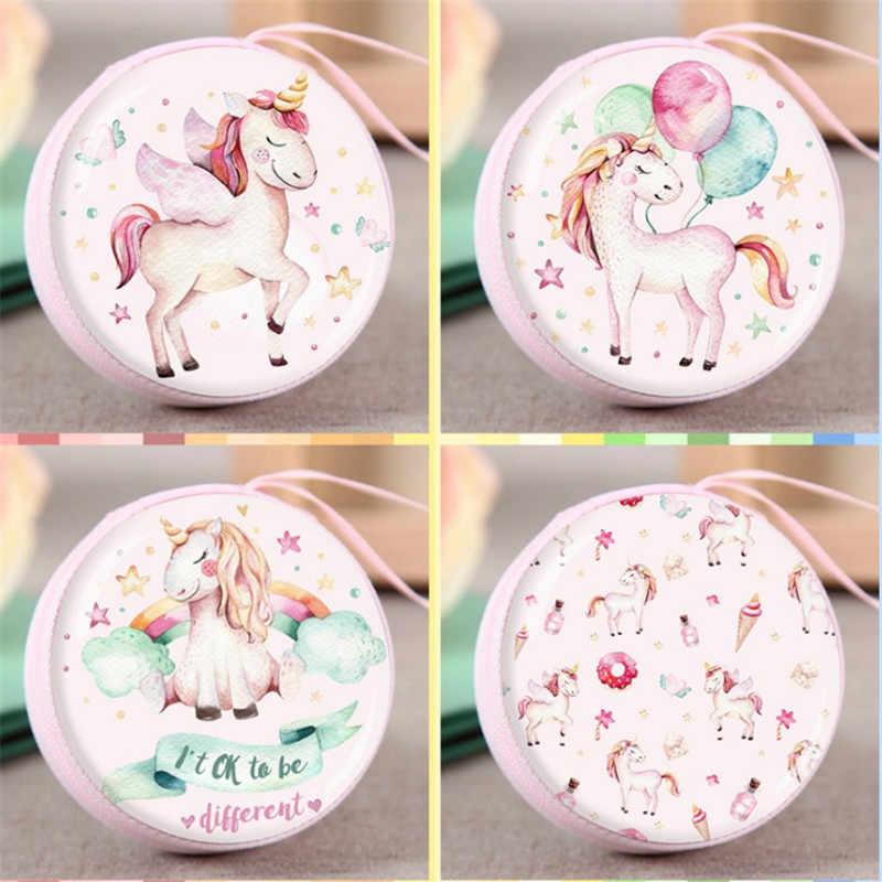Unicornio Fiesta Unicornio Caramelo Caja Decoración Nupcial Boda Regalos Para Invitados Baby Shower Globos De Unicornio Monedero Cumpleaños S