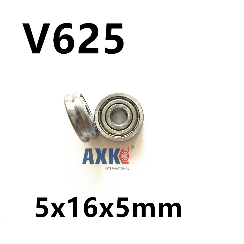 Free shipping 2pcs V625/90 V625ZZ V groove deep groove ball bearing 5x16x5mm pulley bearing gcr15 6326 zz or 6326 2rs 130x280x58mm high precision deep groove ball bearings abec 1 p0