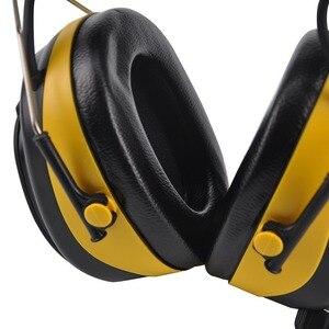 Image 4 - Protear nrr 25dB聴覚プロテクターam fmラジオイヤーマフ電子耳保護撮影イヤーマフラジオ聴覚保護