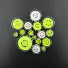 Различные модели доступны круглый пузырьковый уровень мини спиртовой уровень пузырьковый Bullseye измерительный прибор уровня