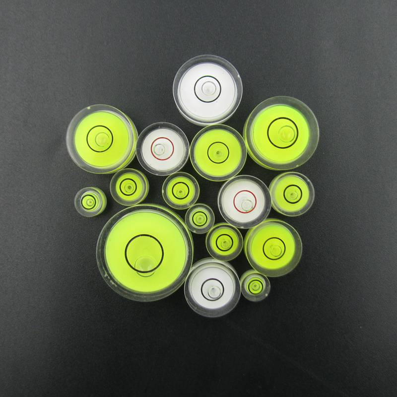 Variety Models available Round bubble level mini spirit level Bubble Bullseye Level measurement instrument eglo aloria