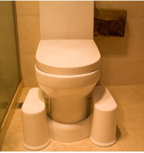 2017no slip toilet foot stool potty squat stool Crouch hole artifact Squatbathroom step stool detachable toilet stool