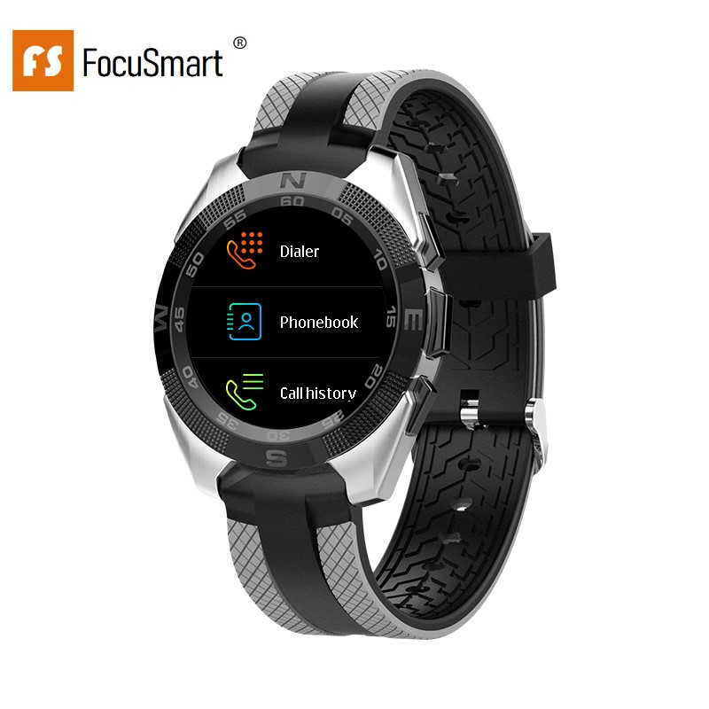 FocusSmart L3 1.54 inch Smart Watches Blood Pressure Heart Rate Watches Fitness Tracker IP68 Waterproof Smart Watch