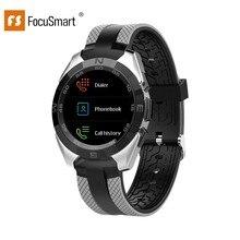 Focussmart L3 1,54 дюймов Смарт-часы кровяное Давление часы с функцией измерения пульса Фитнес трекер IP68 Водонепроницаемый Смарт-часы