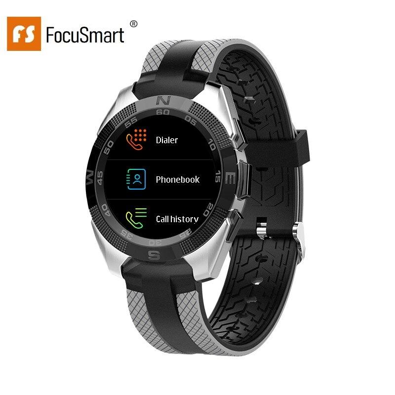 FocusSmart L3 1.54 inch Smart Watches Blood Pressure Heart Rate Watches Fitness Tracker IP68 Waterproof Smart Watch