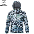 2016 Autumn Men New Waterproof Jacket Individuality 3D Overpass Printed Windbreaker Male Casual Hooded Thin Zipper Jackets M381