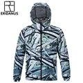 2016 Outono Homens Novo Viaduto Individualidade 3D Impresso Blusão Jaqueta À Prova D' Água do Sexo Masculino Com Capuz Casuais Fino Zipper Jaquetas M381
