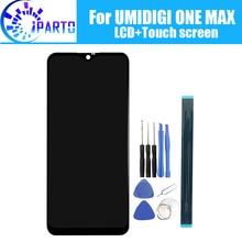 6.3 인치 UMIDIGI ONE MAX LCD 디스플레이 + 터치 스크린 UMIDIGI ONE MAX 용 100% 오리지널 테스트 LCD 디지타이저 유리 패널 교체